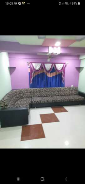 2bhk FURNISHED With SOFA BED COUPBORD