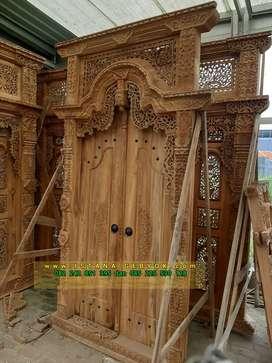 cuci gudang pintu gebyok gapuro jendela rumah masjid musholla vivi