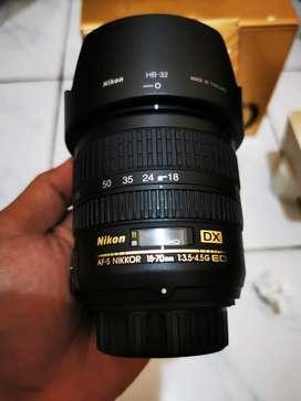 Nikon 18-70mm VR