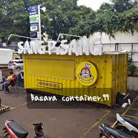 Box container, container pisang nugget, container pisang lumer, booth