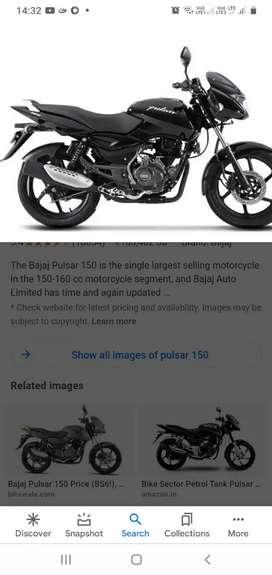 Pulsar 150.brand new  only Chennai Customer