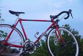 Vintage Roadbike Sepeda Balap Jadul Rakitan Mewah - bajul spesial