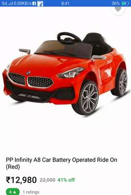 Battery powered ride on Car with remote support Rs.6000.00