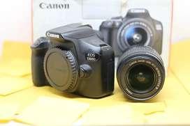 Canon 1300D Lensa kit / Support Wifi /SC Rendah / Fullset