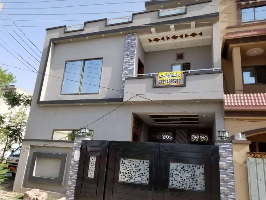 5 Marla Brand New Corner House For Sale In Sapphire Block Of Park View 0