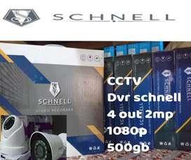 Alat bantu keamanan, kamera cctv 4 channel