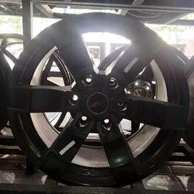Velg Mobil Ring 17 HSR Massif Untuk Pajero Fortuner Hilux Strada Dll