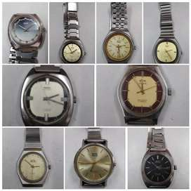 HMT, Alwyn winding watches for sale in running,non-running condition.