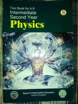 Physics inter second year text book