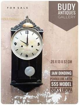 Jam Pendulum Antik 555 Boks Gaya Eropa