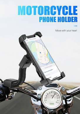 USB Charger 5 Volts 2 Amp 360 Degree Rotatable Strong Sturdy Bike Phon