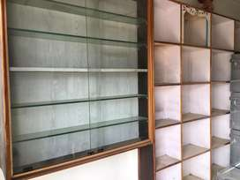 Shop display rack & counter table for sale.