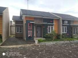 Rumah minimalis type 48 di tepi jalan suka karya.