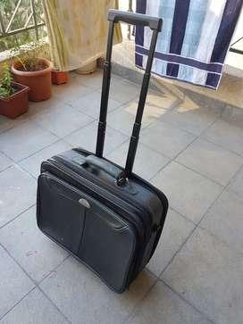 Laptop Trolly Bag Black Color unused