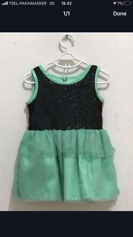 baju dress anak contempo