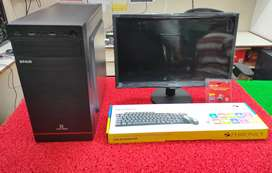 i3 computer set with Antivirus wifi reciver free