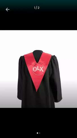 Graduation Gown Cap with V Stole