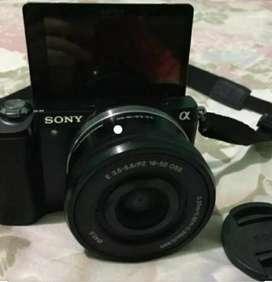 Di jual kamera sony A5000, kamera mirroless