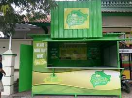 booth  container/container pos satpam/container barberbooth thaitea