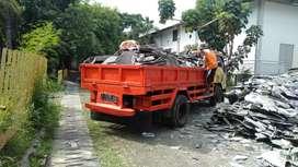 Jasa angkutan sampah proyek