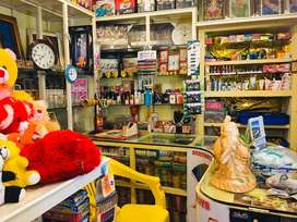 GIFT, TOYS, CROCKERY AND COSMETICS SHOP FOR SALE
