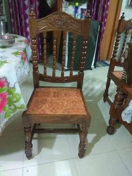 6 Seater Sheesham Dining Table