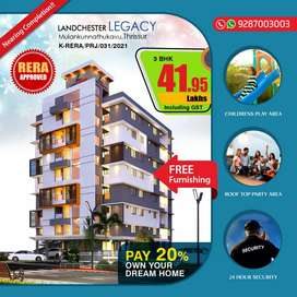 3BHK LUXURY APARTMENT FOR SALE 41.95 LAKH