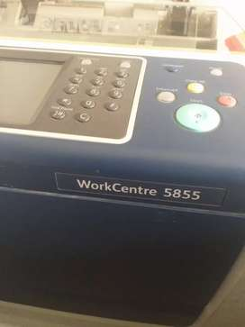 Photostate machine workcenter 5855