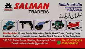 Salesmen required for hardware and tool store in Saddar Rawalpindi