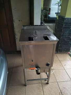 Gas Deep Fryer 20  liter  u/ Fried Chicken