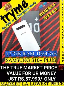 """TRYME 1Day Offer 1024""""GB Rom+12""""Gb Ram S10+/Full kit Box"""