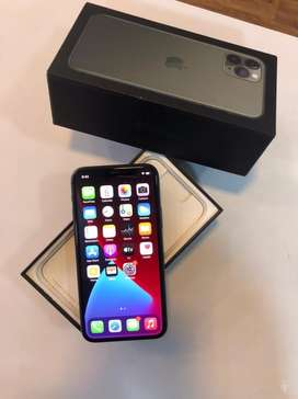 APPLE I PHONE 11 PRO 256GB MIDNIGHT GREEN COLOUR WARRANTY AVAILABLE
