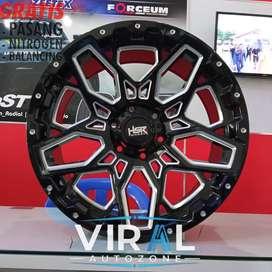 Velg HSR Ring 20 Lubang 6 Pcd 139,7 Pelak Mobil Import Pelek Murah R20