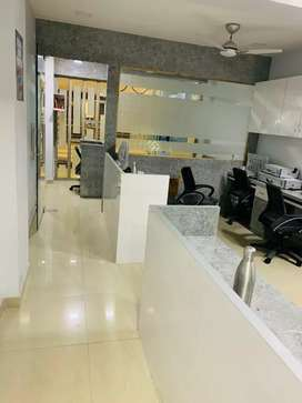 Furnished office available for rent.