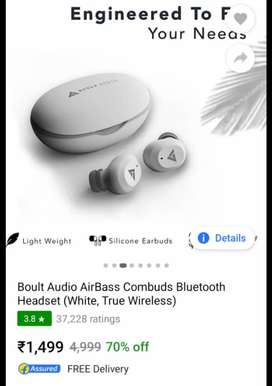 Boult bluetooth headset