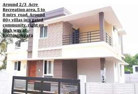 Duplex premium House for sale in kozhinjampara