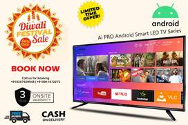"""New 40"""" Full HD Smart Android Led TV With 3 year Onsite Warranty"""