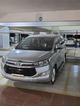 Toyota Innova Crysta Automotic 2.8 Z 2016 Diesel Well Maintained.