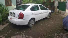 Verna white colour personal used car