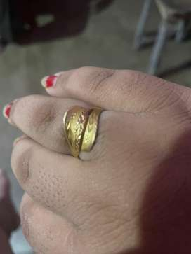 Gold ring for sale with hallmark 22krt