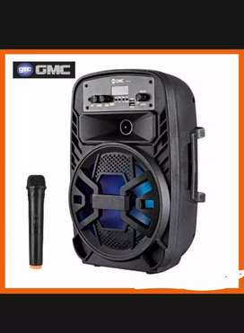 PROMO. PORTABEL SPIKER SALON AKTIF BLUETOOTH KARAOKE GMC MEETING.