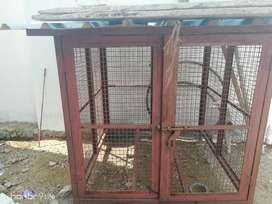 Dog cage pet cage