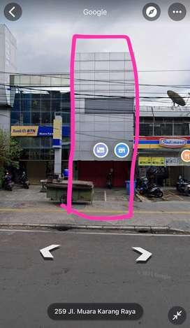 Disewakan Ruko Siap Pakai Muara Karang Raya Uk 5x30 m2 sblmnya Bank