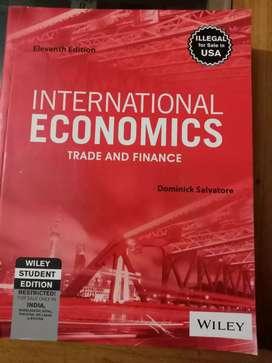 International Economics Trade & Finance by Dominick Salvatore