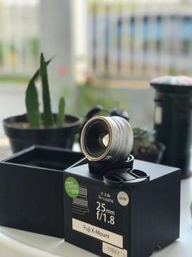 7Artisans 25mm F1.8 For Fujifilm X – Silver