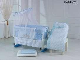 tri star baby bed set tipe M70