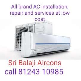 Ac repair installation service