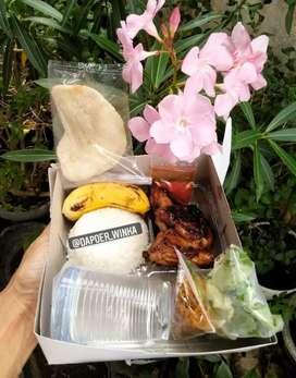 Nasi Boxs Komplit edisi Promo