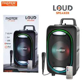 FASTER FT-603 Hi-Fi Bass Sound 6.5-inch Bluetooth Speakers with Mic