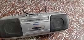Stereo radio cassette  recorder
